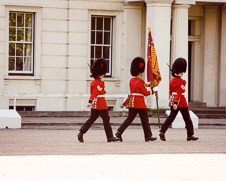 London photo - Grenadier Guards, home decor, Changing of the Guard