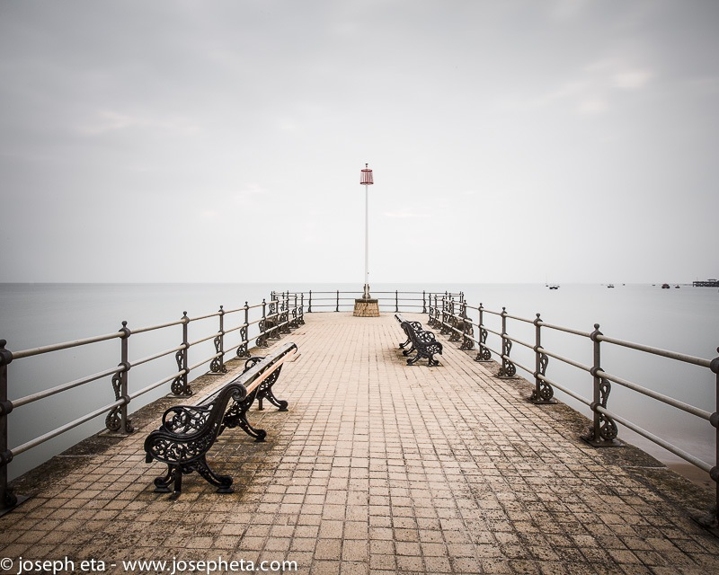Wall art photo of the Banjo Jetty in Swanage