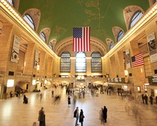 photo of Grand Central Station at rush hour in New York City