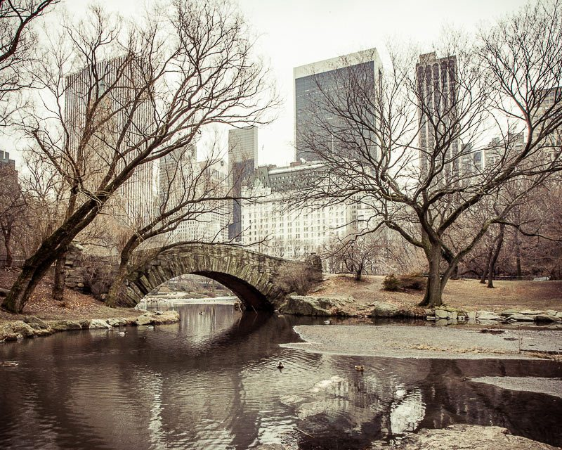 Home Decor photo of a the Gapstow Bridge in Central Park, New York