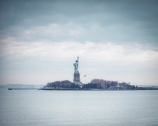 Wall art photo of the statue of liberty in New York