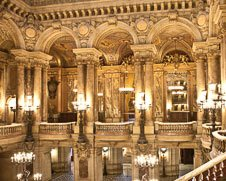Wall art photo of the Paris opera house