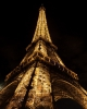 Wall art photo of the Eiffel Tower at night