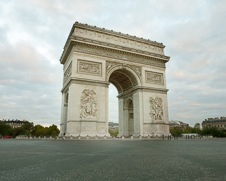 Wall art photo of the Arc De Triomphe