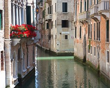 The Romantic waterways of Venice