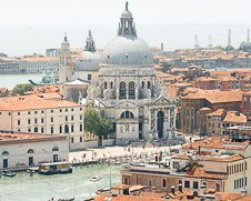 Wall art photo of Santa Maria Della Salute  in Venice, Italy