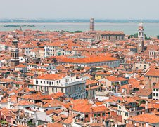 Wall art photo of Venetian Roof Tops in Venice, Italy