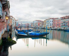 Wall art photo of The Grand Canal in Venice at first light